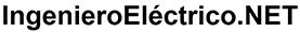 Ingeniero eléctrico net logotipo